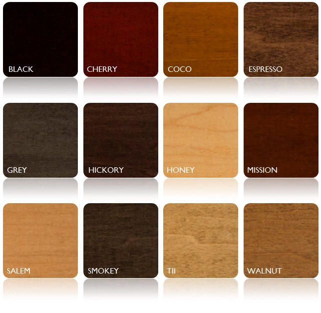 Custom Furniture Stain Options